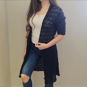 🌸Eileen Fisher Lace Cardigan Duster